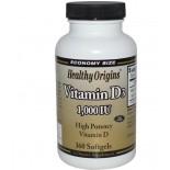 Healthy Origins, - Vitamina D3 1000 UI, 360 cápsulas