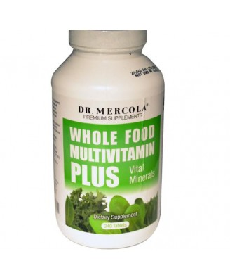 Dr. Mercola, Whole Food Multivitamin Plus, 240 Tablets