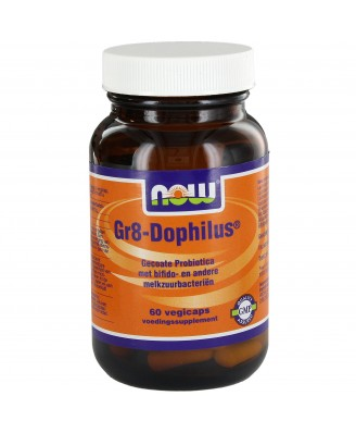 Gr8-Dophilus (60 caps vegetarianas) - Now Foods