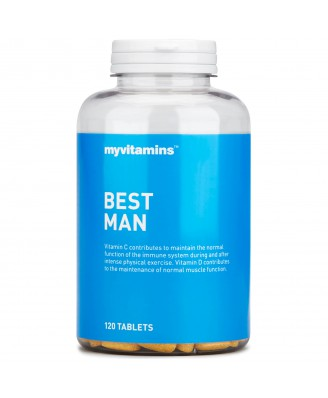 Best Man, 120 tablets  (120 Tablets) - Myvitamins