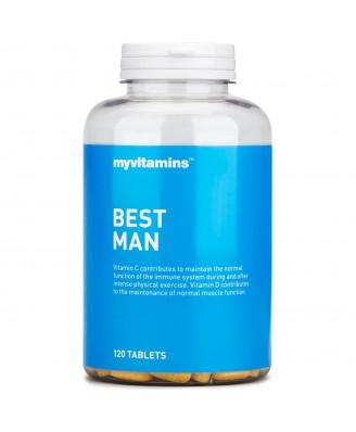 Best Man, 120 tablets  (120 Tablets) - Myvitamins
