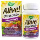 Alive! Once Daily Women's Ultra Potency Multi-Vitamin (60 tablets) - Nature's Way