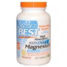 Magnesium - Hoge Opname Magnesium, 120 tabs - Doctors Best