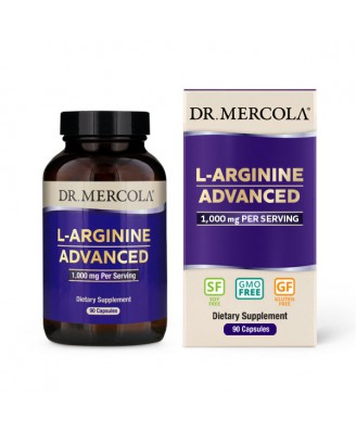 Dr. Mercola, L-Arginine Advanced (1000 mg)