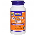 Now Foods, Bee Pollen Caps, 500 mg, 100 Capsules
