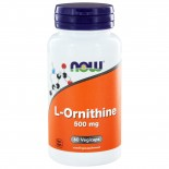 L-Ornithine 500 mg (60 vegicaps) - NOW Foods