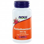 Pantotheenzuur 500 mg (B5) (100 caps) - NOW Foods