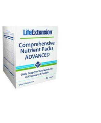 Comprehensive Nutrient Packs Advanced - 30 Packets - Life Extension