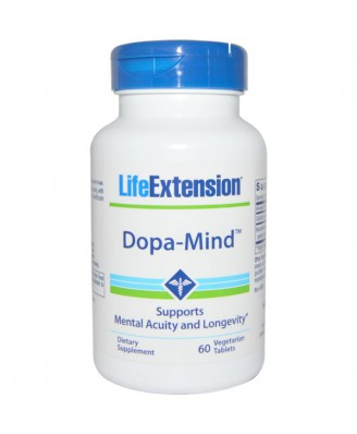 Dopa-Mind (60 Vegetarian Tablets) - Life Extension