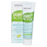 Pure & Clear Acne Behandelingsgel (30 gr) - Nelson