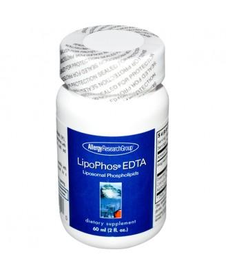 LipoPhos EDTA Liposomal Phospholipids (60 ml) - Allergy Research Group