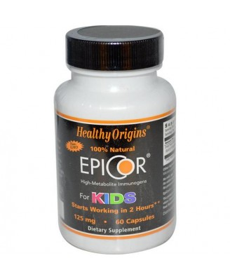 Healthy Origins - EpiCor para niños 125 mg - 60 cápsulas