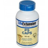 PS Caps 100 mg (100 Veggie Caps) - Life Extension