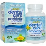 Adult Dental Care Probiotic With M18 - Natural Peppermint Flavor (60 Lozenges ) - Nature's Plus