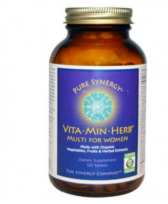 The Synergy Company, Vita·Min·Herb, Multi for Women, 120 Tablets